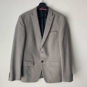 John Varvatos Cotton Wool Blend Sport Coat Blazer
